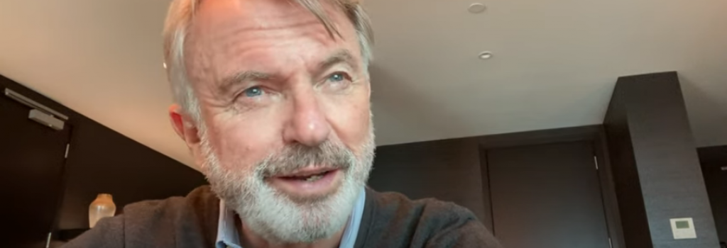 Sam Neill Toast to Alexander Turnbull Library